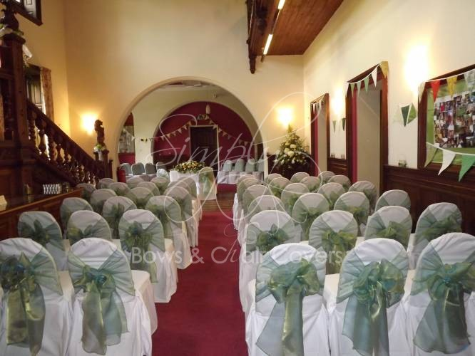 wedding chair covers and wedding planning cumbria